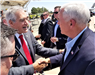 Mayor Kintigh and VP Pence at RIAC (8-21-19)