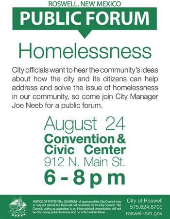 Homelessness Public Forum (Aug 2017) (website)