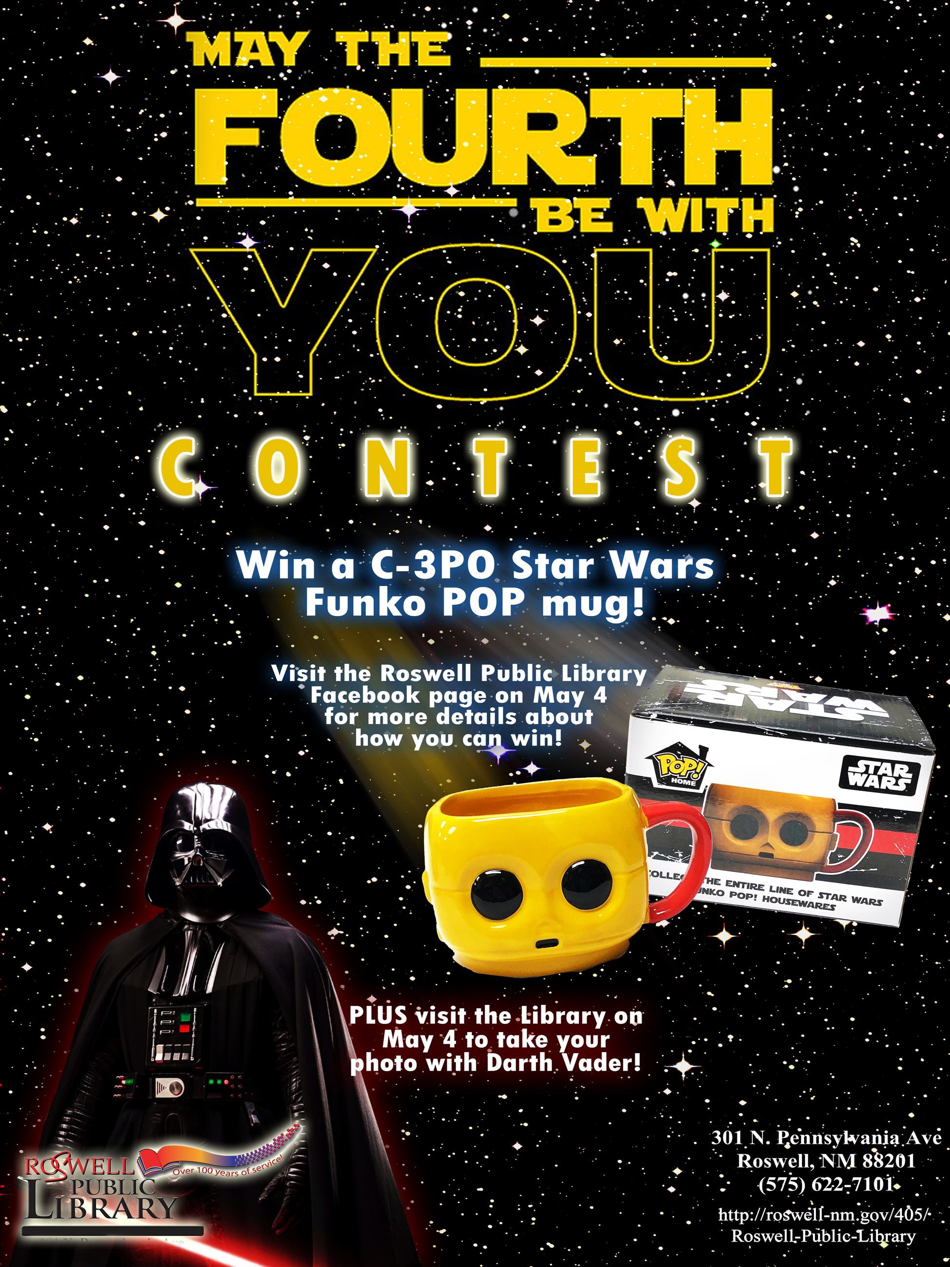 May the 4th Be With You Contest