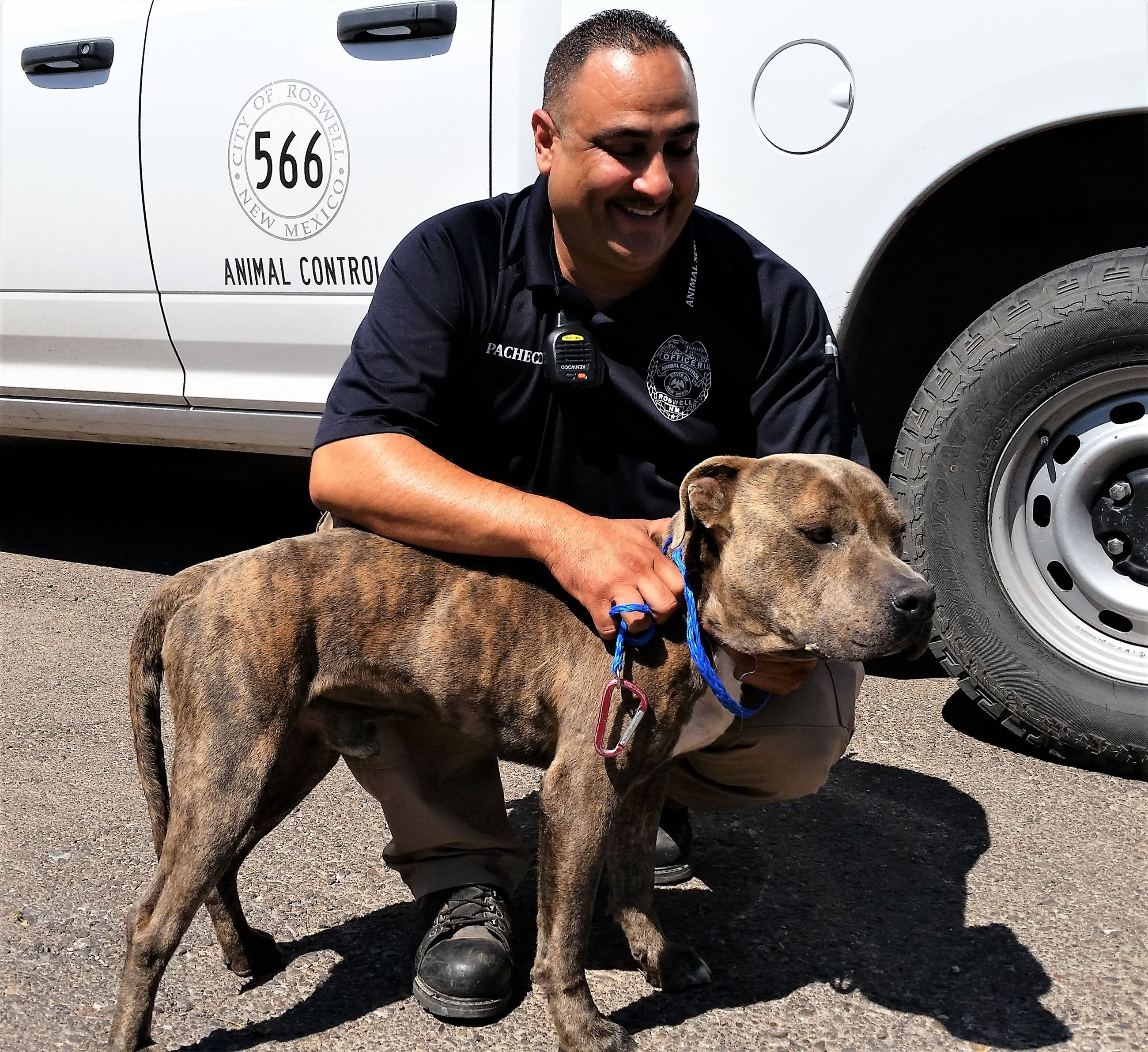Animal Services Supervisor Joseph Pacheco