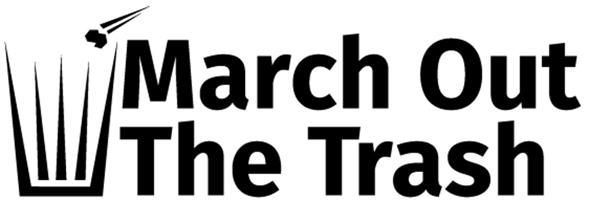 March Out the Trash logo