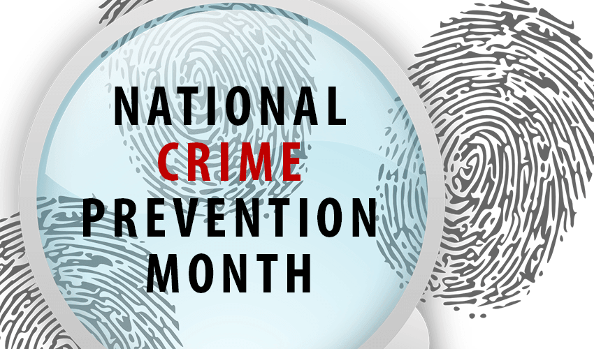 National Crime Prevention Month