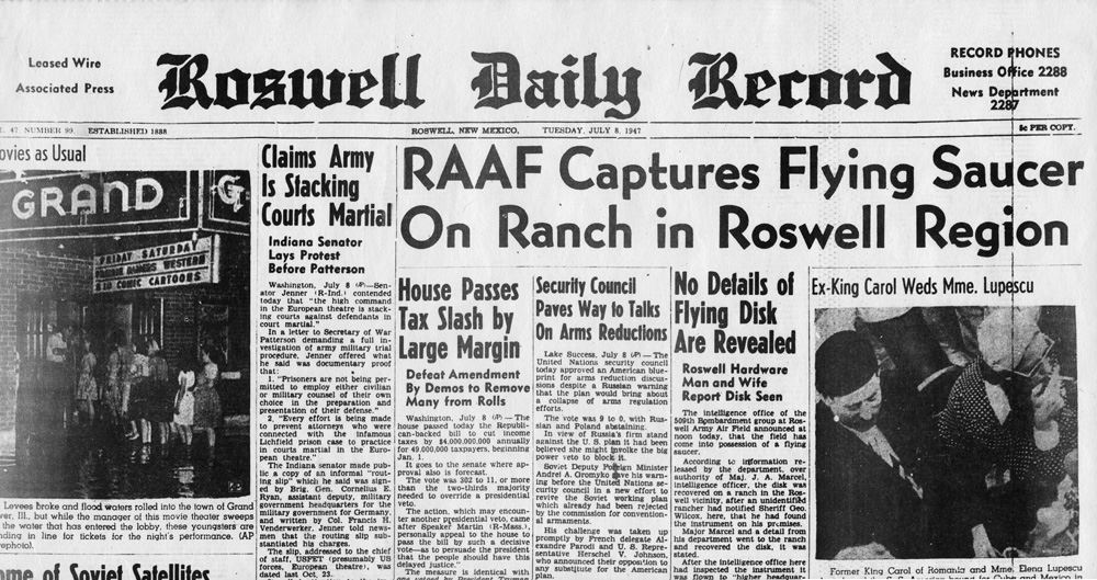 UFO Story | Roswell, NM