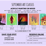 September Art Classes