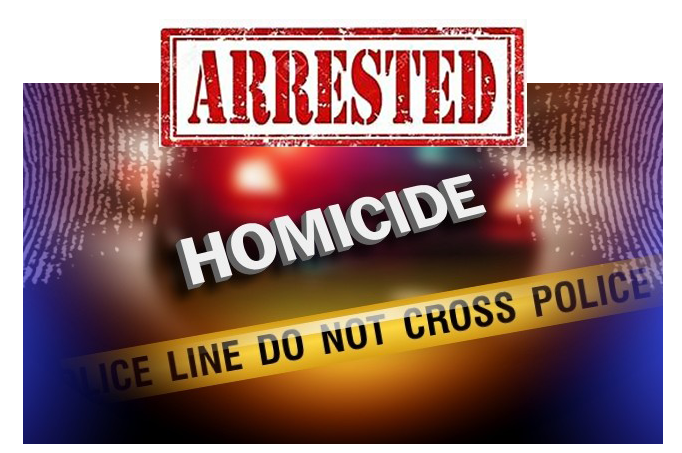 Arrested Homicide Graphic