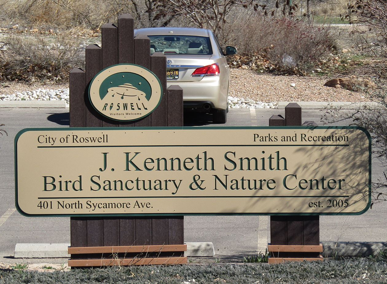 Bird Sanctuary sign